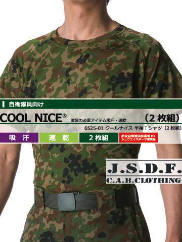 6525 クールナイス 半袖Tシャツ(2枚組)の画像