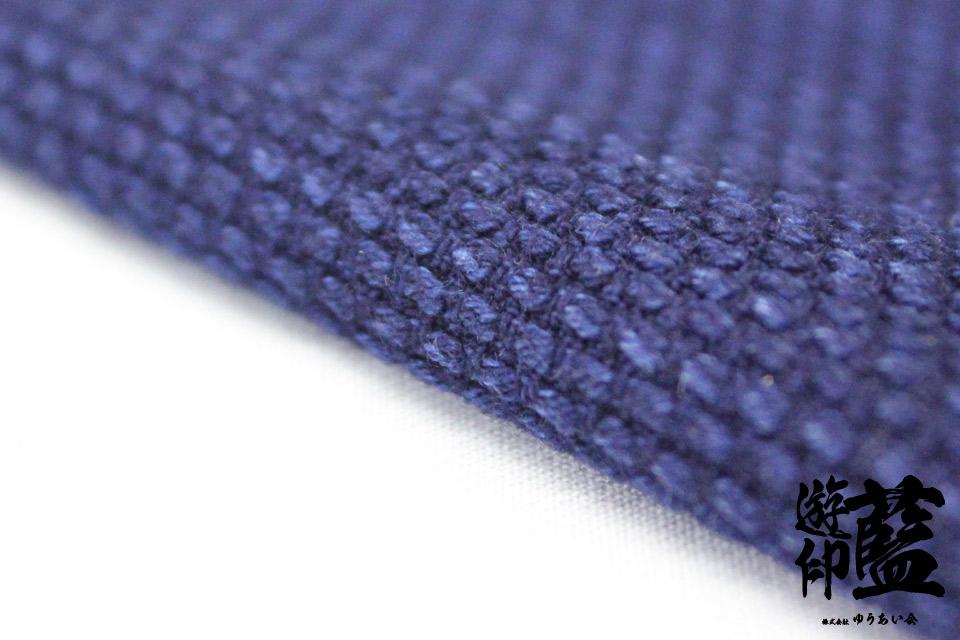 藍染生地測り売り・・・<一重織刺子>画像