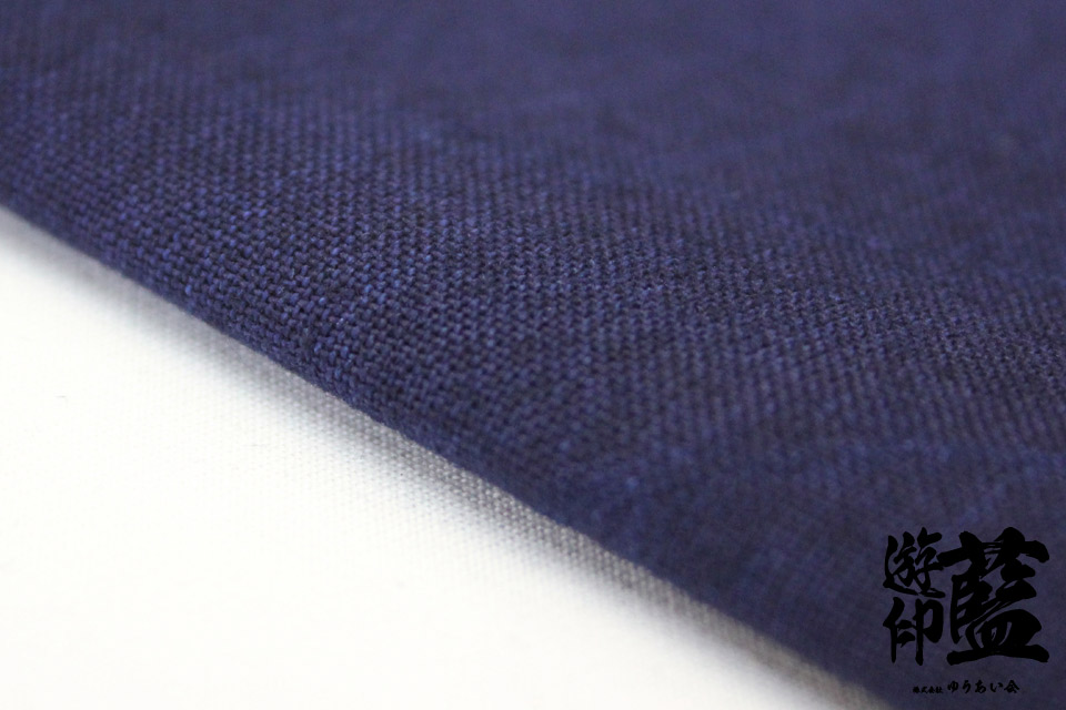 藍染生地測り売り・・・<16/-平織>の画像
