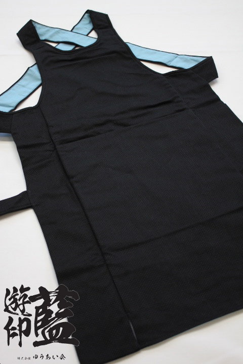【黒】腹掛 刺子の画像