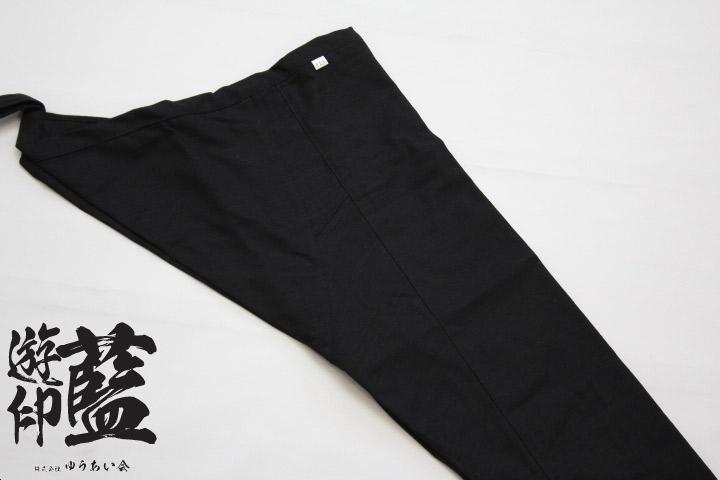 【黒】股引 紬の画像