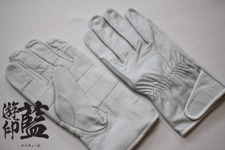 レンジャー皮手袋【凧揚げ合戦練習向】の画像